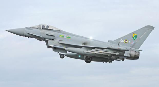 RAF Typhoon jets scrambled after Russian bombers were spotted off the coast of Cornwall