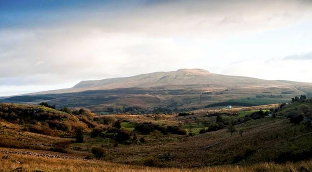 Cagh Mountain from Cavan's Burren Park