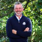 Darren Clarke moments after being announced as captain of Team Europe for the 2016 Ryder Cup