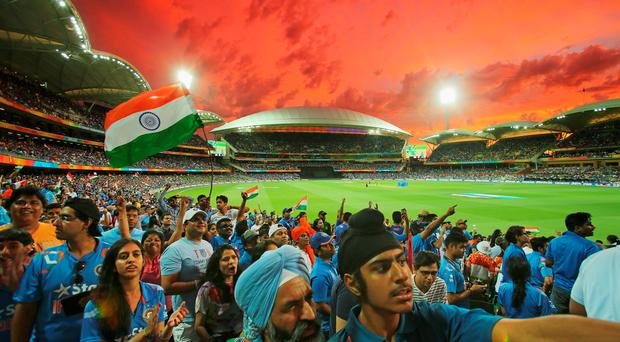 Fans at this year's Cricket World Cup