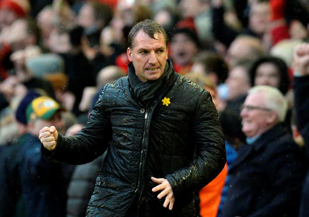Liverpool's Northern Irish manager Brendan Rodgers will be the first option after Pep Guardiola, writes Ian Herbert