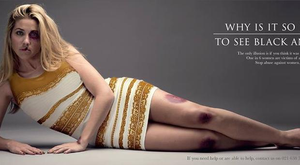 The Salvation Army South Africa campaign advert - Why is it so hard to see black and blue?