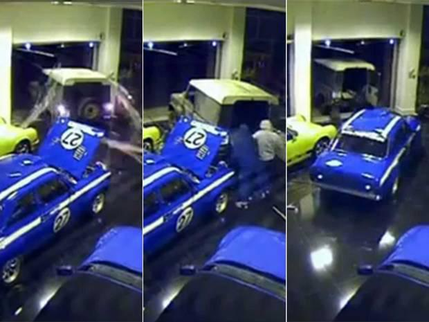 Ford Escort Mexico was stolen in less than a minute