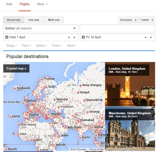 Google Flights has been revamped – and offers serious competition to other flight comparison sites
