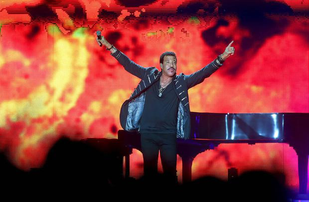 Lionel Richie on stage at the Odyssey Arena in Belfast. Picture: Kevin Scott / Belfast Telegraph