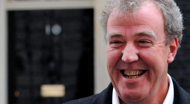 Top Gear host Jeremy Clarkson who has been suspended by the BBC