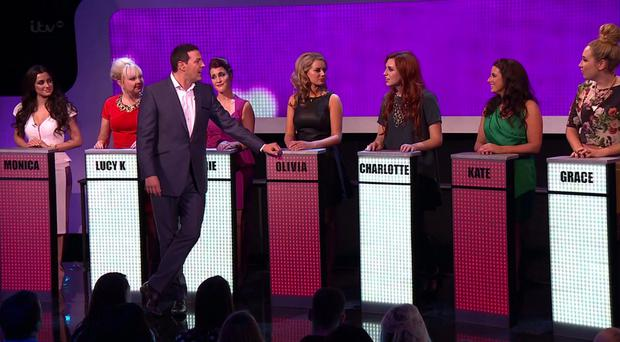 ITV gameshow Take Me Out
