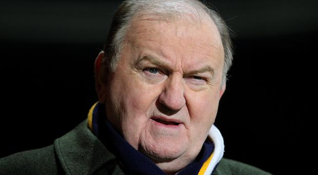 TV and radio rugby pundit George Hook. INPHO/Lorraine O'Sullivan.