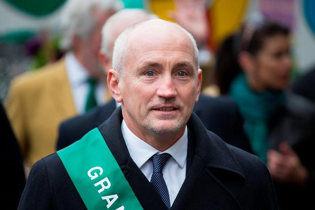 Retired professional boxer Barry McGuigan at the Mayor of London's St Patrick's Day Parade and Festival in London. Daniel Leal-Olivas/PA Wire.