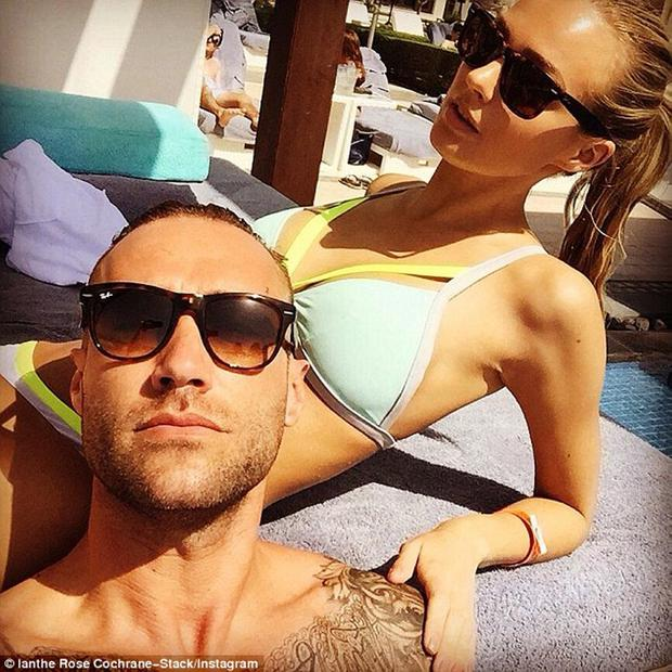 Calum Best and Ianthe Rose Cochrane-Stack in Abu Dhabi