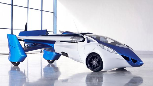 Aeromobil: The sporty-looking cars have collapsible wings