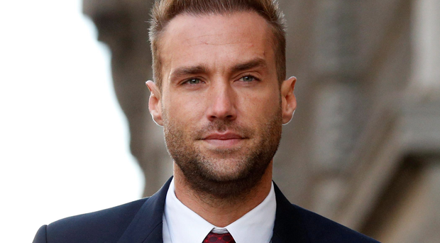 Phone hacking claims...Calum Best arrives at the Old Bailey as the phone hacking trial continues. PRESS ASSOCIATION Photo. Picture date: Wednesday November 13, 2013. See PA story COURTS Hacking. Photo credit should read: Jonathan Brady/PA Wire...A