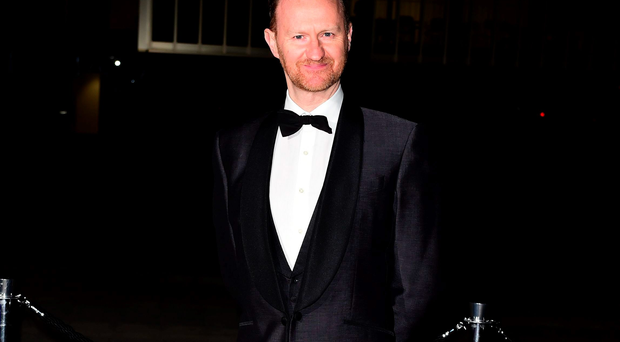 Mark Gatiss arriving at the National Theatre's Fast Forward fundraising gala, in central London. PRESS ASSOCIATION Photo. Picture date: Wednesday March 4, 2015. Photo credit should read: Ian West/PA Wire