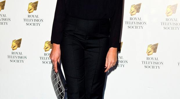 LONDON, ENGLAND - MARCH 17: Claudia Winkleman attends the RTS Programme Awards at The Grosvenor House Hotel on March 17, 2015 in London, England. (Photo by Ben A. Pruchnie/Getty Images)