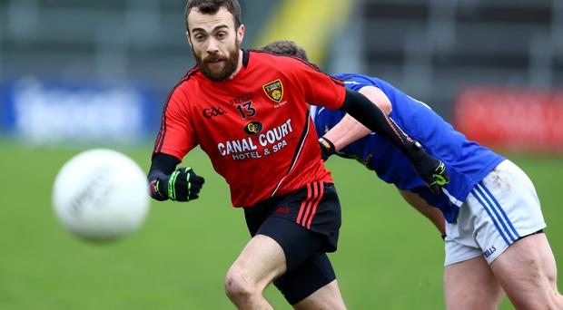 Shining light: Conor Laverty has been a driving force behind Down's promotion bid