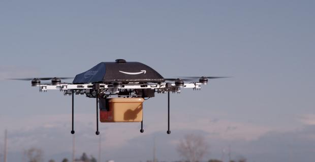 Amazon has been testing drones for delivery