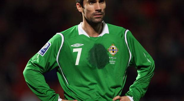 Keith Gillespie in 2008