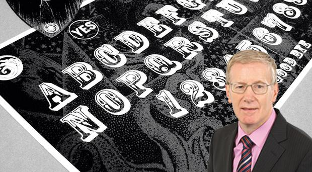 DUP MP Gregory Campbell was told that the government has no plans to regulate the sale of Ouija boards