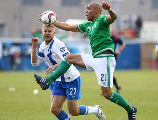 Northern Ireland's Josh Magennis