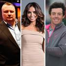 Northern Ireland's biggest celebrities include Kenneth Branagh, Stephen Nolan, Christine Bleakley, Rory McIlroy and Liam Neeson