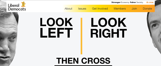 Look at the top left corner, the party have partially rebranded their website.