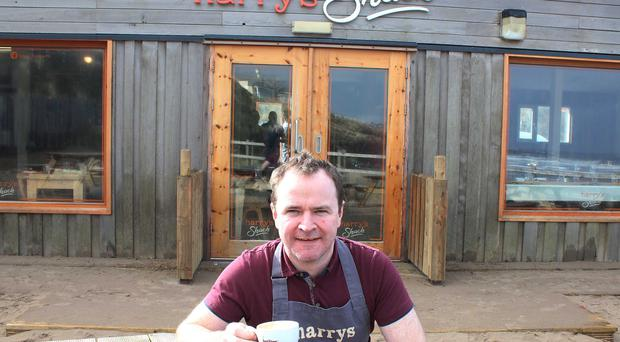 Donal Doherty Manager of Harry's Shack in Portstewart.PICTURE MARK JAMIESON.