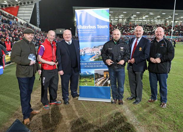 ULSTER RUGBY vs CARDIFF BLUES | Friday 27th March 2015 during the Guinness Pro12 League clash between Ulster Rugby and the Cardiff Blues at at the Kingspan Stadium, Ravenhill Park, Belfast on Friday night. Picture credit: John Dickson / DICKSONDIGITAL