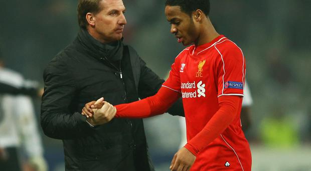 Going nowhere: Brendan Rodgers does not want to lose Raheem Sterling