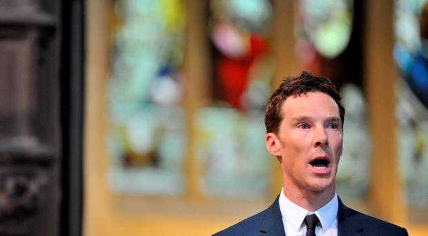 Benedict Cumberbatch can't say it, can you? The most difficult words