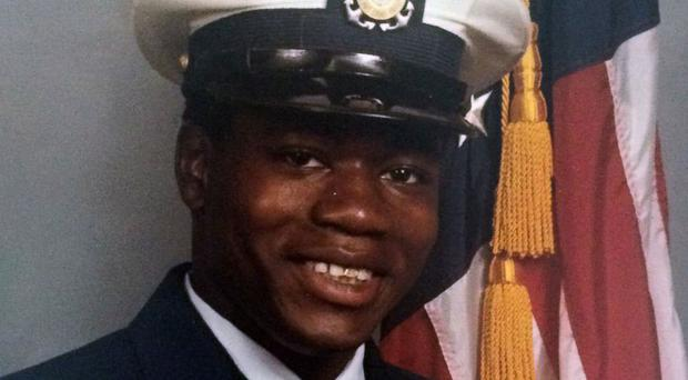 Walter Scott in the Coast Guard uniform