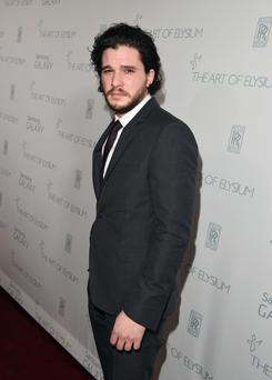 Furore: Kit Harington has created a storm over his comments about Belfast
