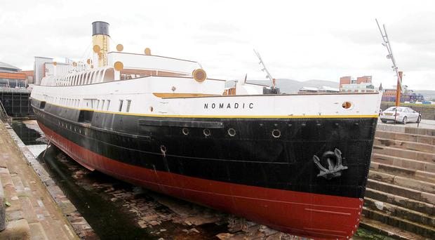 Changed hands: SS Nomadic