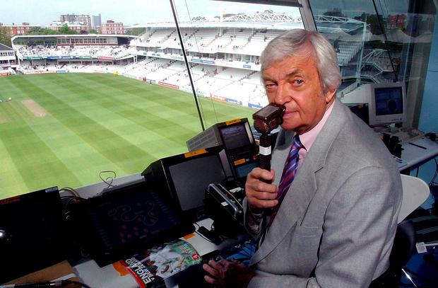 Channel 4 cricket presenter Richie Benaud.