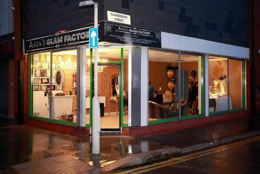 Asta's Glam Factory before it was destroyed Pic: Asta's Glam Factory Facebook page