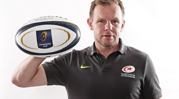 Destiny in own hands: Ulsterman Mark McCall is chasing Champions Cup success with Saracens