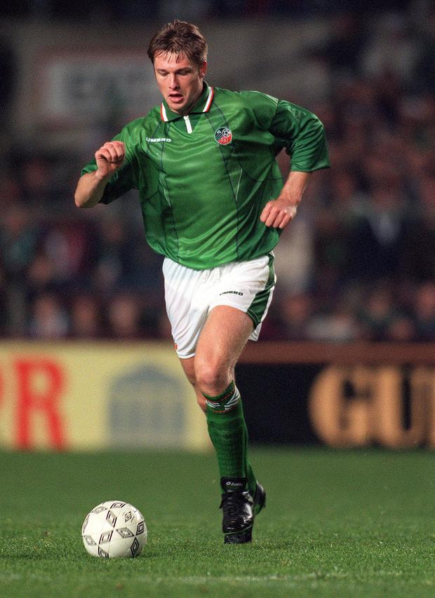 Alan Kernaghan played for the Republic in a World Cup after finding he was ineligible to turn out for Northern Ireland