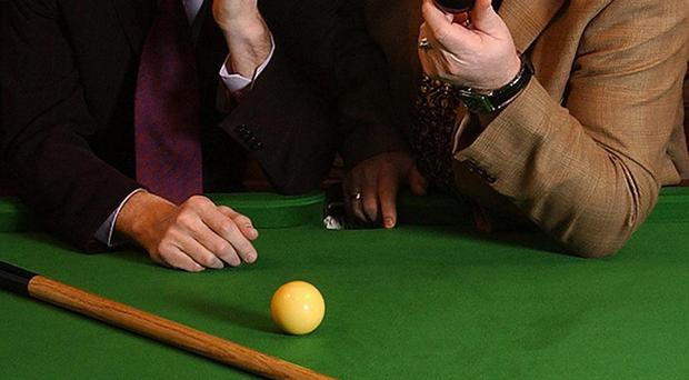 Glory days: Steve Davis (left) and Dennis Taylor had one of the most memorable TV moments back in 1985