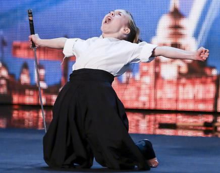 Jesse Jane McParland on Britain's Got Talent