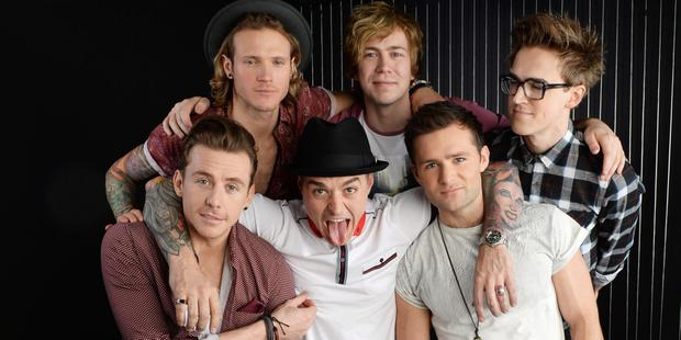 Ready to rock: McBusted play in Belfast on Wednesday