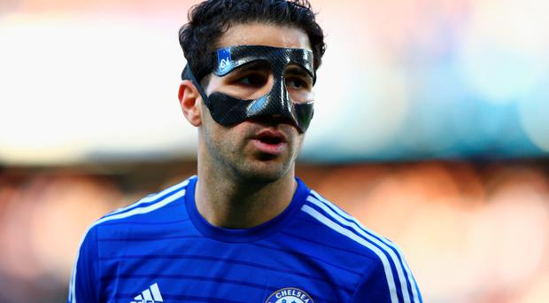 LONDON, ENGLAND - APRIL 18: Cesc Fabregas of Chelsea looks on during the Barclays Premier League match between Chelsea and Manchester United at Stamford Bridge on April 18, 2015 in London, England. (Photo by Ian Walton/Getty Images)