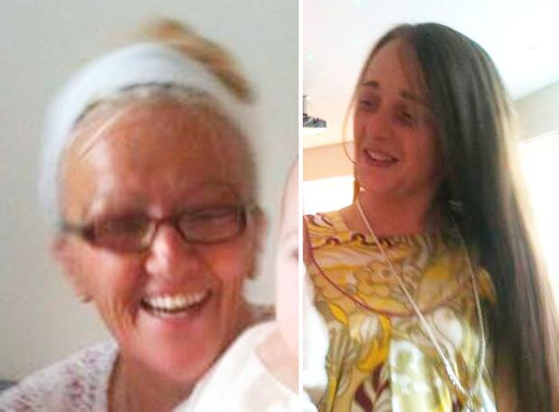 Bernadette Fox, 57, and her daughter, Sarah Fox, 27, who were found dead at two separate addresses in Bootle, Merseyside. Picture: Merseyside Police/PA Wire