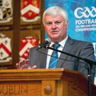 National GAA Football All Ireland Senior Championship Launch, Mansion House, Dawson St., Dublin 2 23/7/2014 GAA president-elect Aogn ? Fearghail Mandatory Credit ?INPHO/Morgan Treacy