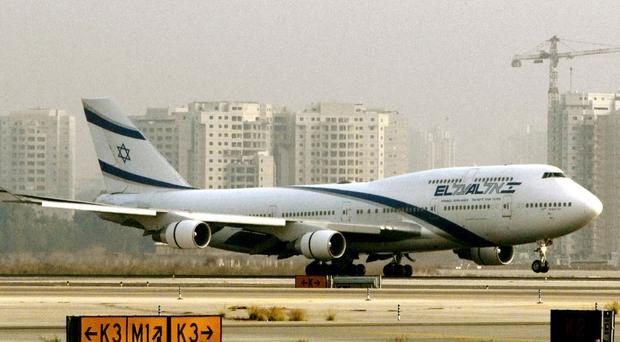 The plane returned to Ben Gurion Airport
