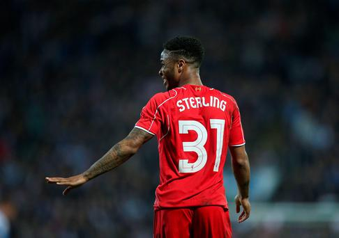 Liverpool's Raheem Sterling