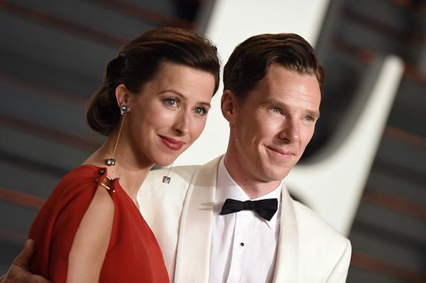 Benedict Cumberbatch and wife Sophie Hunter
