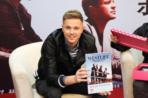 Nicky Byrne in 2012