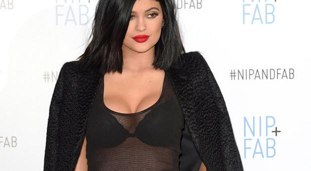 Kylie Jenner on March 14, 2015 in London, England.