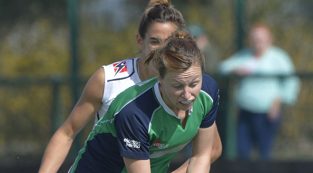 Inside information: Ireland captain Megan Frazer knows plenty about US hockey, which will come in handy next month
