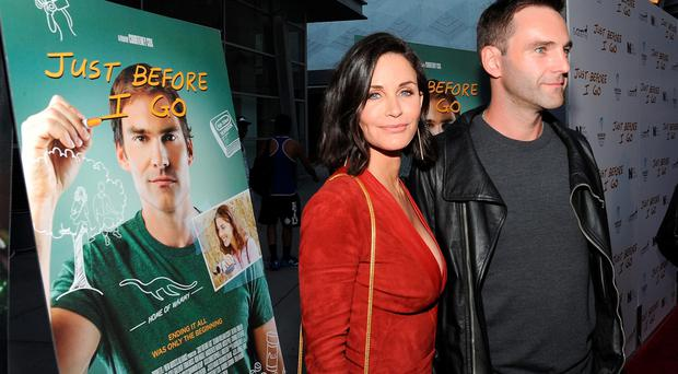 Director Courteney Cox and musician Johnny McDaid attend the Los Angeles Special Screening of
