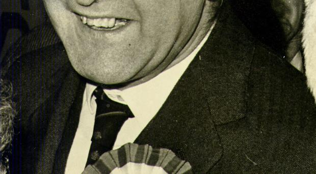 Desmond Boal during his time as an MP for the Shankill constituency, which he represented from 1960 to 1971